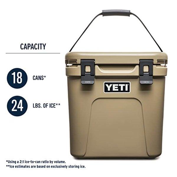 YETI Roadie イエティ 24 Cooler クーラーボックス アウトドア 3色