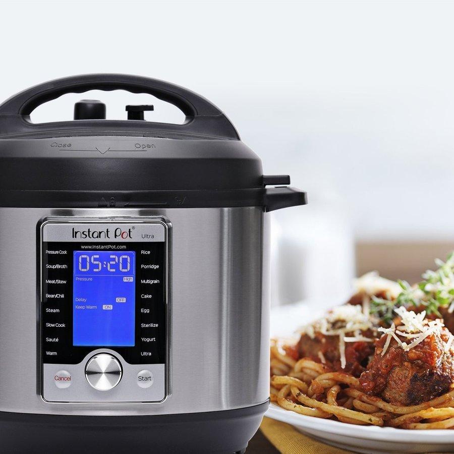 インスタント ポット Instant Pot 圧力釜 6 Qt 10マルチプログラム 圧力クッカー 炊飯器 ヨーグルトメーカー ケーキメーカー アメリカキッチン家電