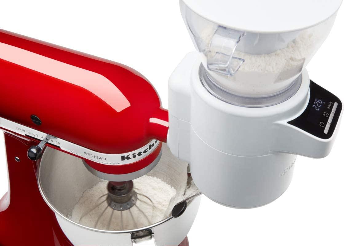 KitchenAid アタッチメント キッチンエイドふるい器&計量器  5KSMSFTA スタンドミキサー用