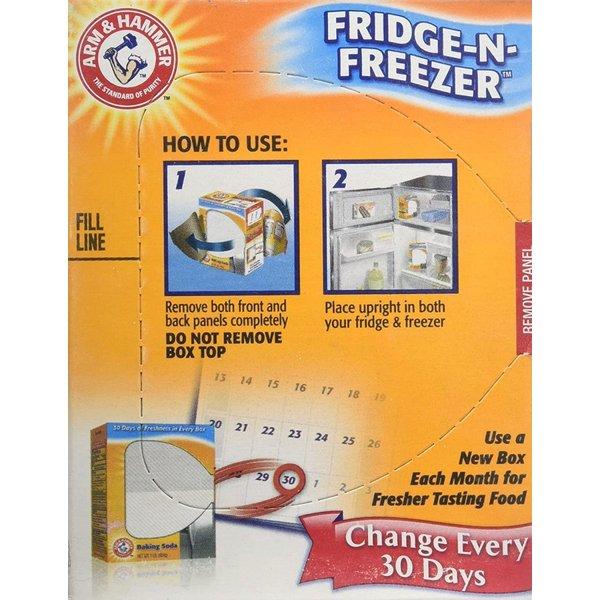 アーム&ハンマー 冷蔵庫&冷凍庫用消臭パック3個セット Arm & Hammer SYNCHKG117315 30日間有効