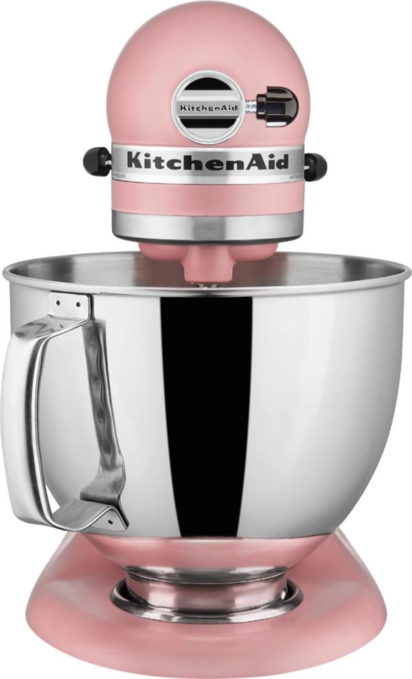 キッチンエイドスタンドミキサー アルチザン KitchenAid Stand Mixer  Artisan 5 Qt. KSM150PSDR ★カラー:Matte Dried Rose★