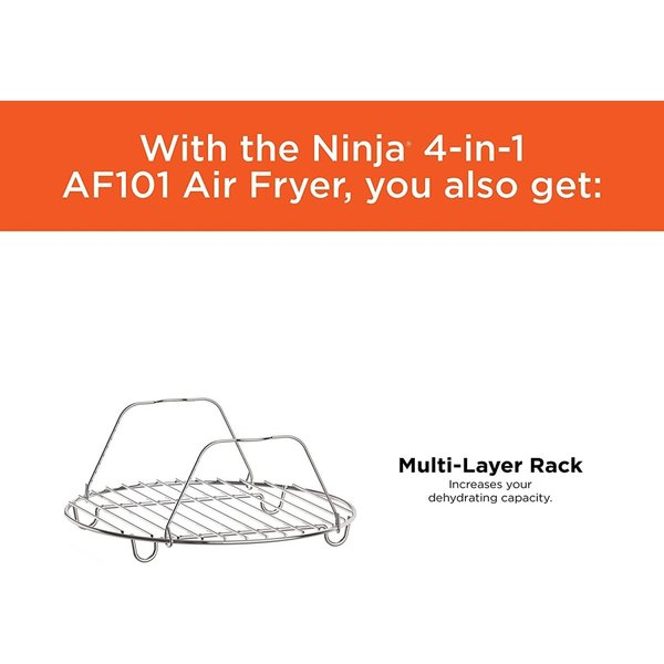 ニンジャエアーフライヤー Ninja AF101 4リットル1550ワット