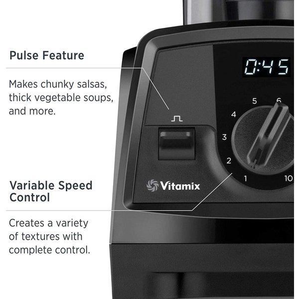 バイタミックス ブレンダー Vitamix Venturist V1200 コンテナ ブラック