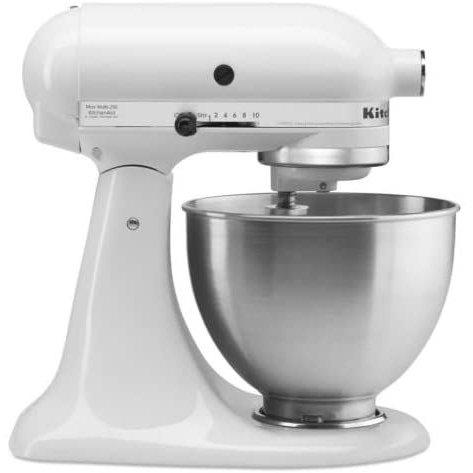 KitchenAid Stand Mixer キッチンエイド スタンドミキサー 4.3L ホワイト/シルバー KitchenAid 卓上ミキサー