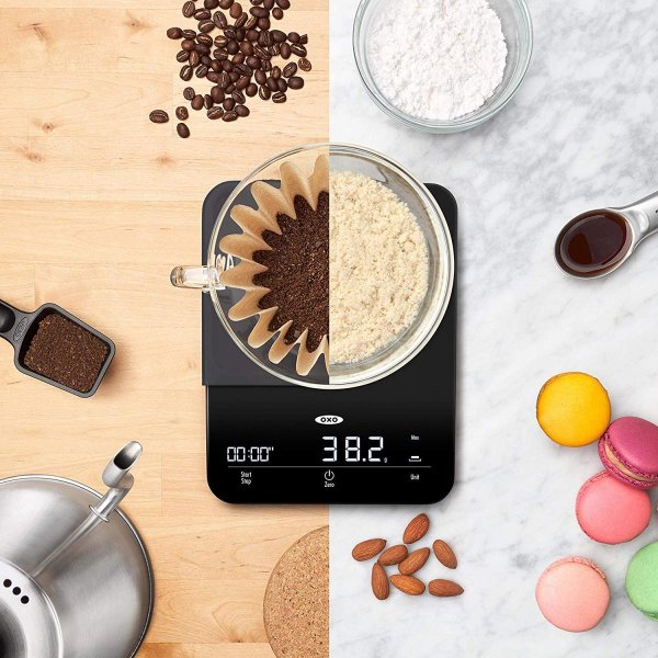 オクソー キッチンスケール OXO 11212400 計量器 タイマー付き 6パウンド コーヒー