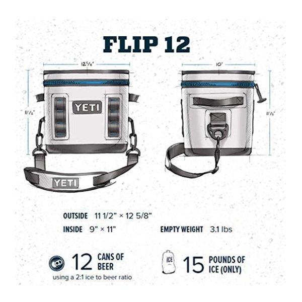 【YETI】Hopper Flip 12 クーラーボックス Charcoal