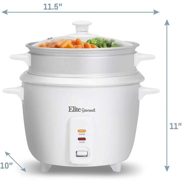 マキシマティック 炊飯器 Maxi-Matic ERC-008ST スチーマー 16カップ