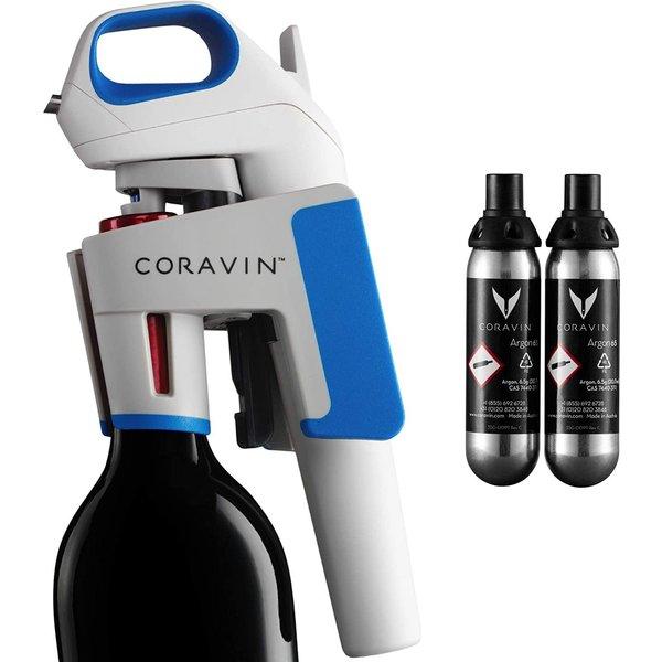 コラヴァンCoravin モデル1 アドバンスド ワインボトルオープナー/保存システム 100015 アルゴンカプセル付き