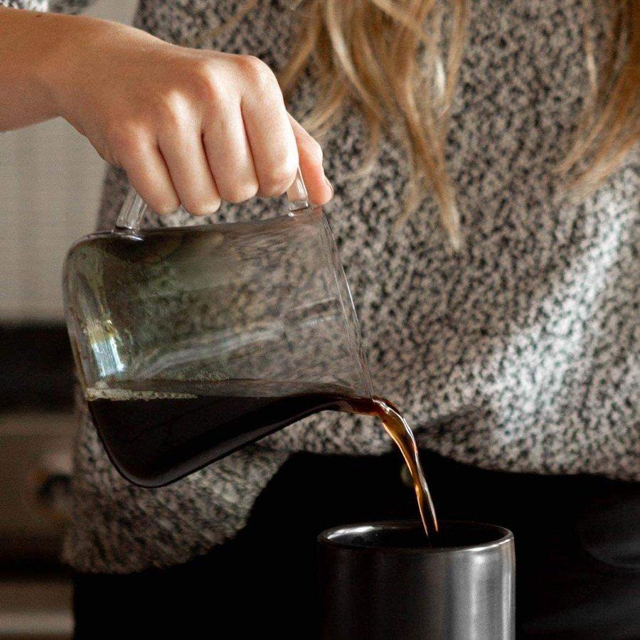 Fellow フェロー ガラスカラフェ 500mL スモークグレー 耐熱ガラスポット コーヒー