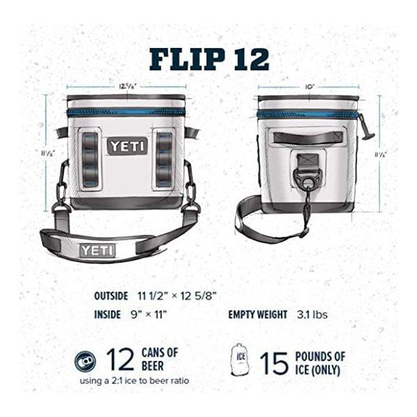 【YETI】Hopper Flip 12 クーラーボックス River Green