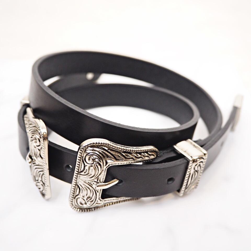 w buckle belt #