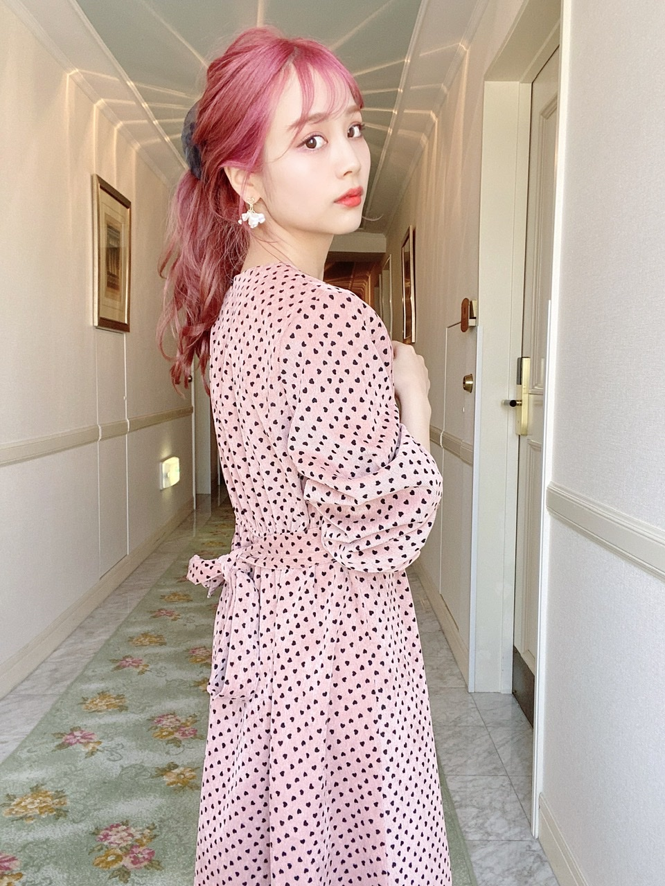 petit heart OP pink