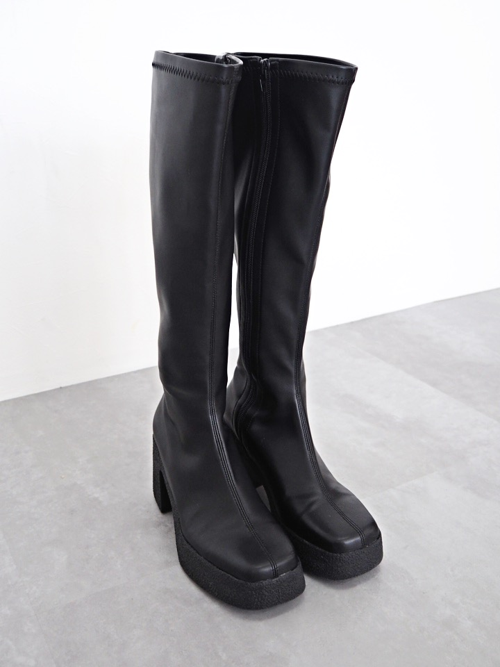 stretch long boots