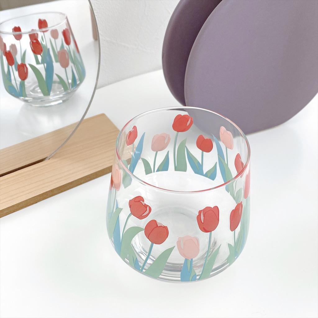 【JH】 tulip fat glass