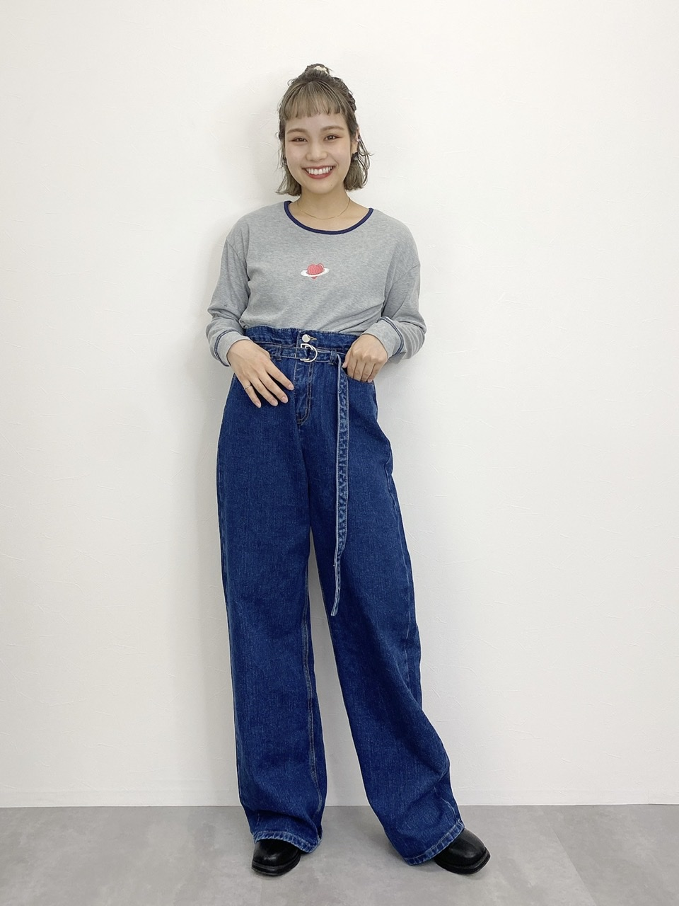 set belt denim