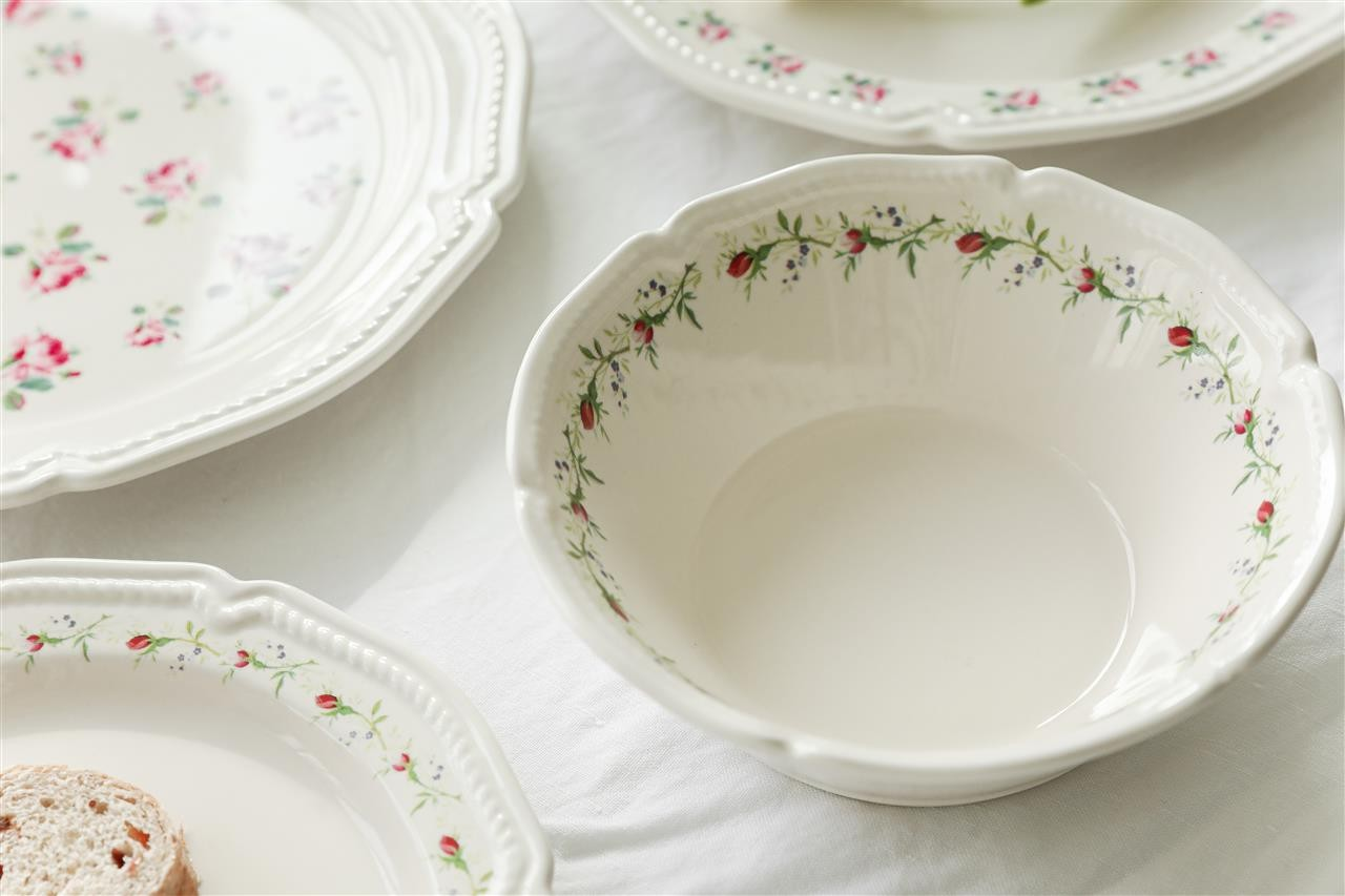 【JH】 flower salad bowl
