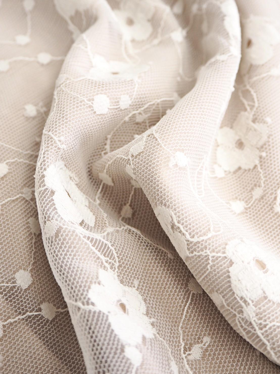 set lace OP beige