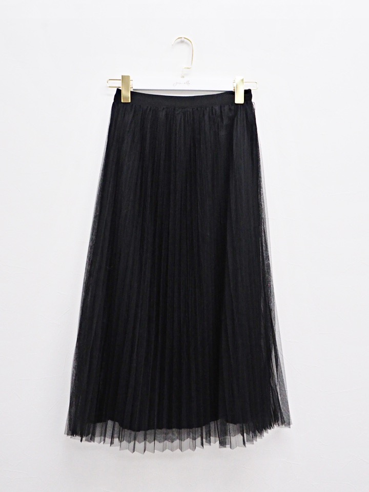 2way skirt black