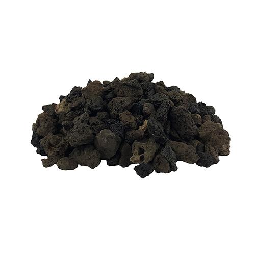 メダカ・金魚飼育のろ過する溶岩砂 黒