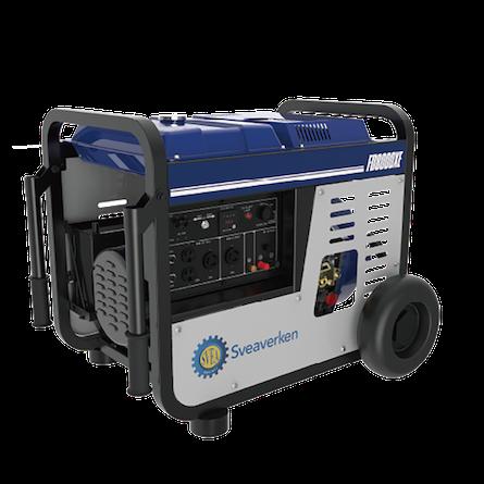 【予約受付】【低価格】ディーゼル発電機6KVA 灯油可 (スーアワーケン社)