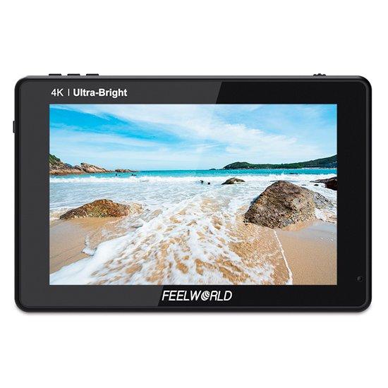 FEELWORLD(フィールワールド)LUT7 モニター(7インチ・超高輝度2200nit)1年保証付き※おまけバッテリー付き!