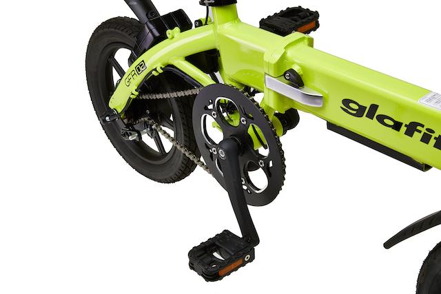 【次回予約開始未定】glafit GFR-02 ハイブリット電動自転車・電動バイク