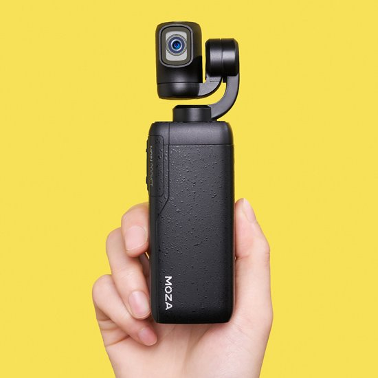 MOZA MOINカメラジンバル(カメラ一体型小型ジンバル)一年保証付き/64GB SDカードプレゼント!