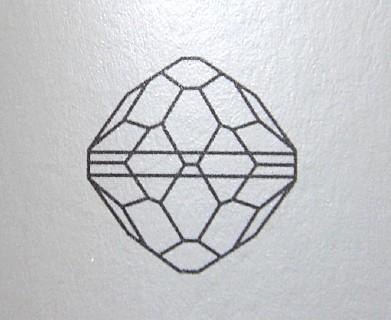 ヴィンテージスワロフスキー廃盤品 Art.5300アメジスト AB加工 10mm 10個入り VSR-1-L