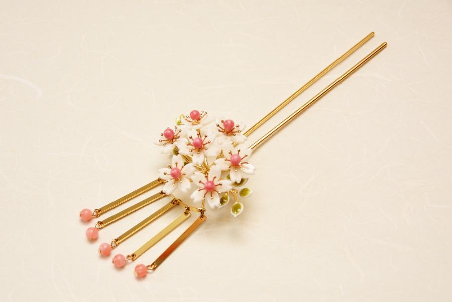 金足 七宝 桜 ビラかんざし