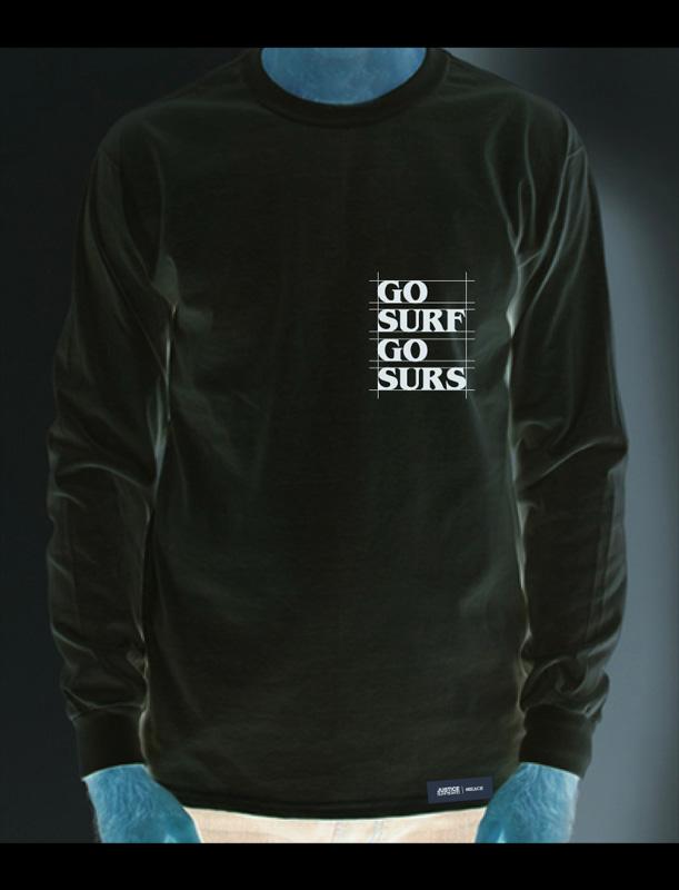 GO SURF 6.0oz LONG-TEE