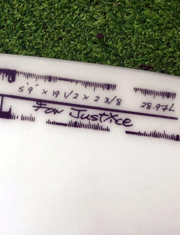 """5'9"""" デッドストック 50/50 EPS ドラゴンフライモデル"""