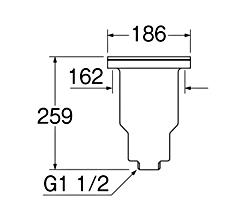 SANEI 流し排水栓DS 【品番:H650】■