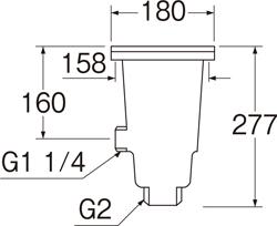 SANEI 流し排水栓DW 【品番:H651A】■