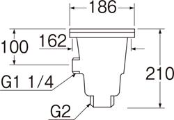 SANEI 流し排水栓 【品番:H6521】