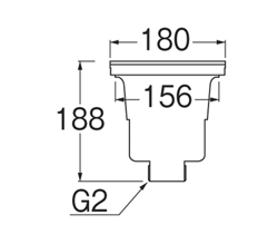 SANEI 流し排水栓 【品番:H6550】■