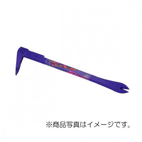 【メール便対応】土牛産業 カラーSバール 250mm バイオレット 【品番:01037】