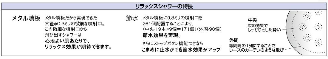 カクダイ リラックスシャワー ブルー 【品番:356-903-B】