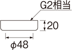 SANEI 袋ナットセット 【品番:U7-64S】