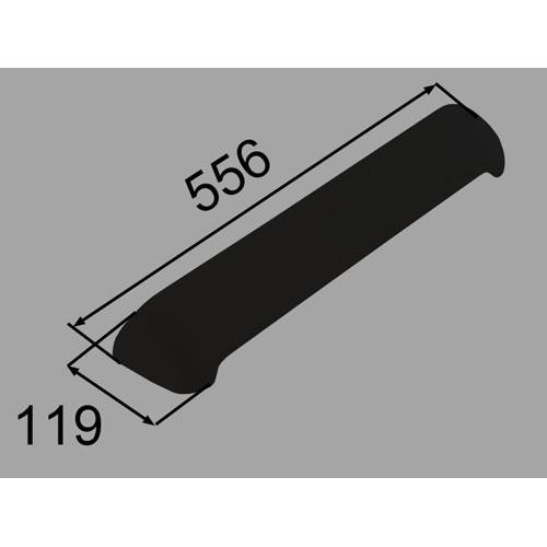 LIXIL(INAX) ヘッドレスト ブラック 【品番:YCH-10B/K】