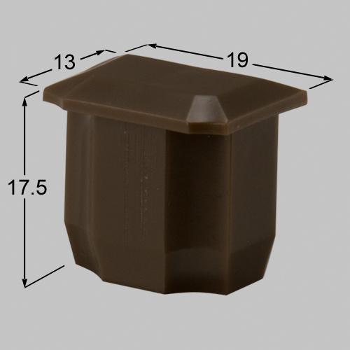 【メール便対応】LIXIL(TOEX) アルミエリス2型小桟キャップ ブロンズ 【品番:BAK12010A】