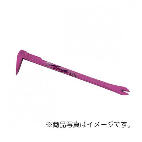 【メール便対応】土牛産業 カラーSバール 250mm ピンク 【品番:01037】