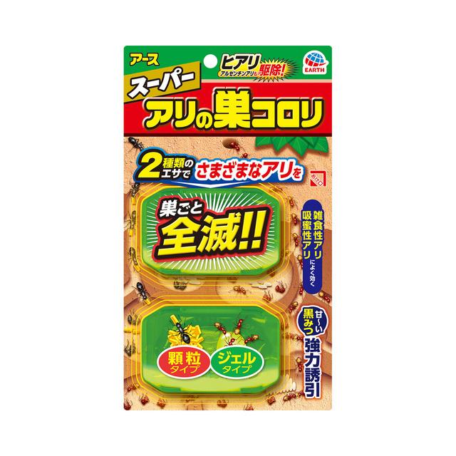 【メール便対応】アース製薬 スーパー アリの巣コロリ 【品番:4901080255013】