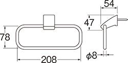 SANEI タオルリング 【品番:W5701-D】