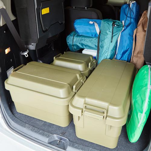 トラスコ中山(TRUSCO) トランクカーゴ 50L OD色 【品番:ODC-50】