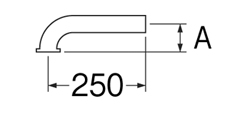 SANEI Pパイプ 【品番:PH71-66-25】
