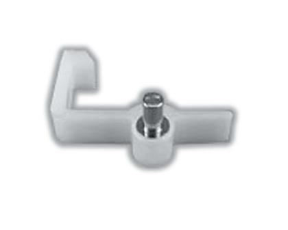 【メール便対応】LIXIL(トステム) L型棚受けダボ T15用 【品番:QRP265R】