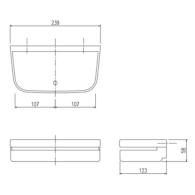 LIXIL(INAX) 収納棚 【品番:NT-240A(1)/Y60】●