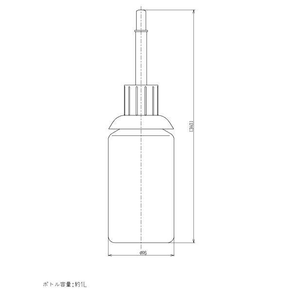 TOTO 水石けん補給ボトル 【品番:THD83】