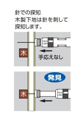 【メール便対応】シンワ測定 下地探し どこ太 Smart 25mm 【品番:78585】