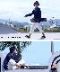 レラックスジーンズ クロップドカラーバルーン  LX105C
